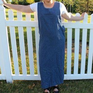 Karen Scott denim dress